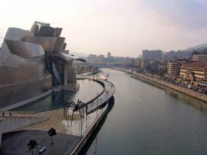 Bilbao vanaf Rotterdam